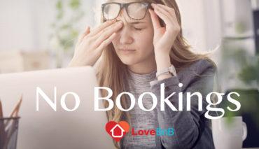 Δεν έχετε κρατήσεις στην airbnb ?